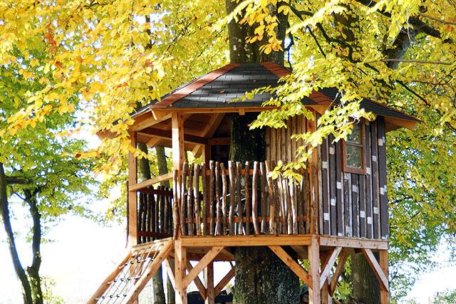 So Etwas Ist Nur Durch Ehrenamt Und Freiwillige Helfer Zu Ermöglichen: Das Coole  Baumhaus Bei