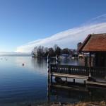 Brahms Pormenade in Tutzing am Starnberger See
