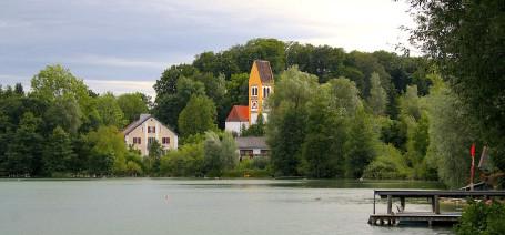 Der Weßlinger See ist der Kleinste im Fünfseenland