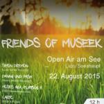 Friends of Museek lassen es am Samstag den 22. August im Lido in Seeshaupt richtig krachen …