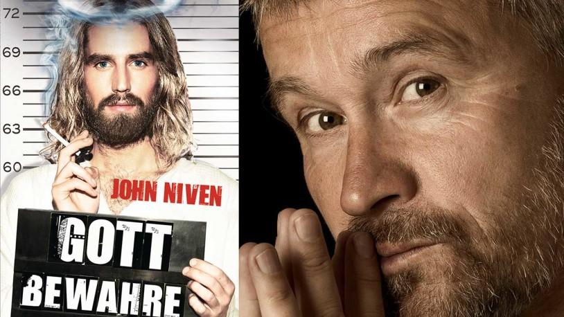 """Schauspieler Thomas Darchinger liest aus John Nivens Roman """"Gott bewahre"""" im Würmseestüberl in Seeshaupt"""