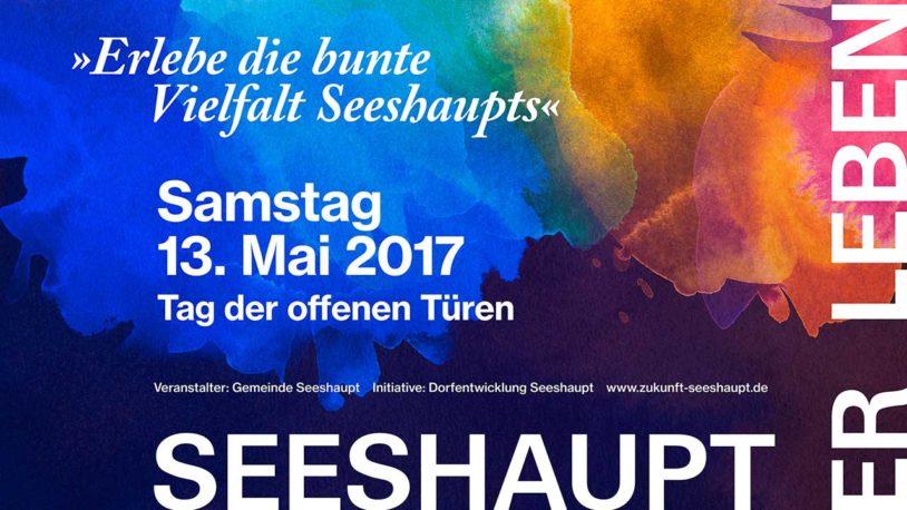 SEESHAUPT-ER-LEBEN am 13. Mai 2017 – der Tag der offenen Türen